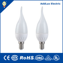 220V AC Dimmable 3W E14 Warm White LED Candle Light