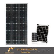 Panneau solaire monocristallin de 65W pour l'usage à la maison (SGM-65W)