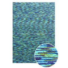 Hilado teñido del espacio del poliéster con la alfombra de lazo