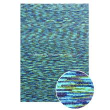 Polyester Space gefärbtes Garn mit Schleifen-Teppich