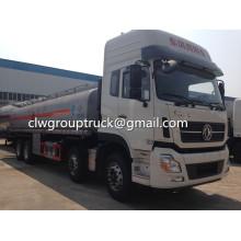 Camión cisterna de transporte de combustible de Dongfeng 180-210HP 12000Lite