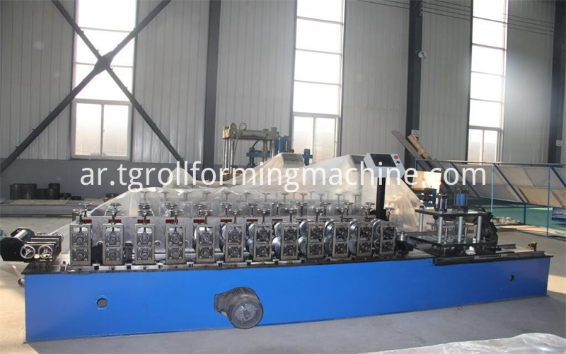Steel Omega Channel Roll Forming Machine