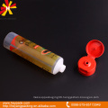 cylindrical plastic tubes with classic cap