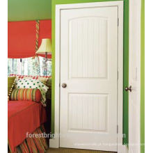 2 portas moldadas internas superiores arqueadas painel