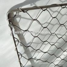 corda de malha de oferta de fábrica 304 cabo de aço inoxidável corda de fio de rede zoo malha
