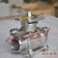 3 pc 1000wog 1/2'' stainless steel ball valve
