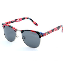 Professional Plastic Sunglasses with PC Frame (C0085)