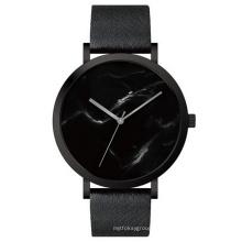 Spezielle Design Edelstahl Fashion Watch mit Marmor Zifferblatt Bg300