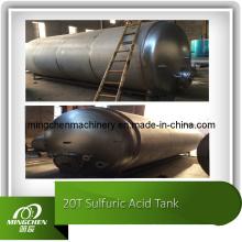 Réservoir de stockage d'acide sulfurique de haute qualité