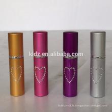 5ml violet rouge à lèvres poivre spray coloré petit