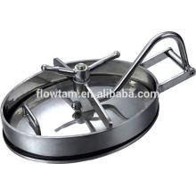 Elliptic tipo reservatório de água de aço inoxidável manhole (com pressão)