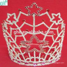 Hermosa corona de cinco estrellas