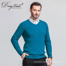Perfect Quality Anti-Wrinkle Feature Hand Knitted V Neck Peruvian Cashmere Sweaters