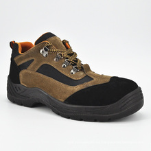 Tapa de acero en piel con punta de Kevlar Sole Safety Shoes