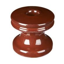 Isolateur à manille en porcelaine, série 53