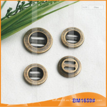 Botón de aleación de zinc y botón de metal y botón de costura de metal BM1659