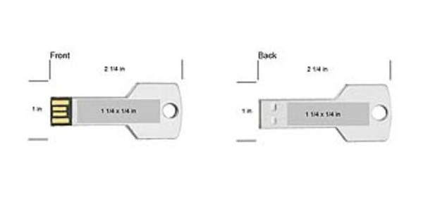 Custom flash drive Usb Key