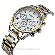 chronography Wristwatch 50atm Water Resistant Stainless Steel Watches