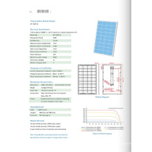 Панель солнечных батарей ГП-100п-36