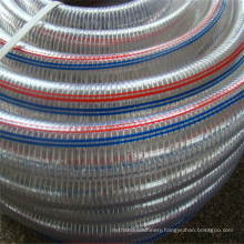 3 Inch PVC Reinforced Flexible Spring Steel Wire Hose/PVC Water Suction Hose