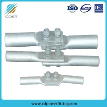 Double Bolts Galvanized Jumper Connectors