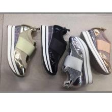 Новый дизайн питания мода леди Спорт кроссовки прозрачной Толстой подошве сексуальные женщины обувь кроссовки