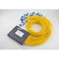 1 * 2 1 * 64 diviseur de fibre optique plc