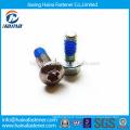 In Stock Carbon Steel/Stainless steel GB /T 2672-1986 Hexagon lobular socket pan head nylock bolt
