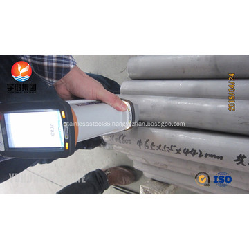 Inconel Heat Exchanger Tube UNS N06600 ASME SB163