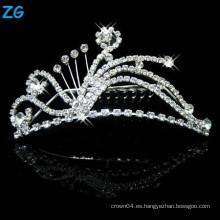 Peinados cristalinos del pelo de los accesorios del pelo de la boda de la manera, peines del pelo del metal