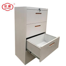 Archive storage steel horizontal lateral filing cabinet 4 drawer