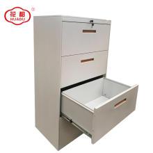 Armário de arquivamento lateral horizontal do aço do armazenamento do arquivo 4 gaveta