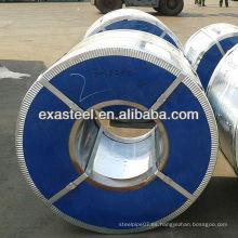 Bobinas de acero galvanizado DX 51D