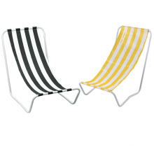 Metal Armless Folding Beach Chair (SP-133)