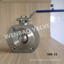 Lockable Wafer Ball Valve with ISO5211 Mouting Pad