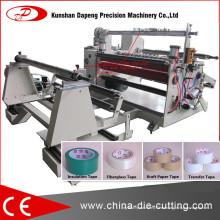 Máquina que raja de la cinta adhesiva completamente automática