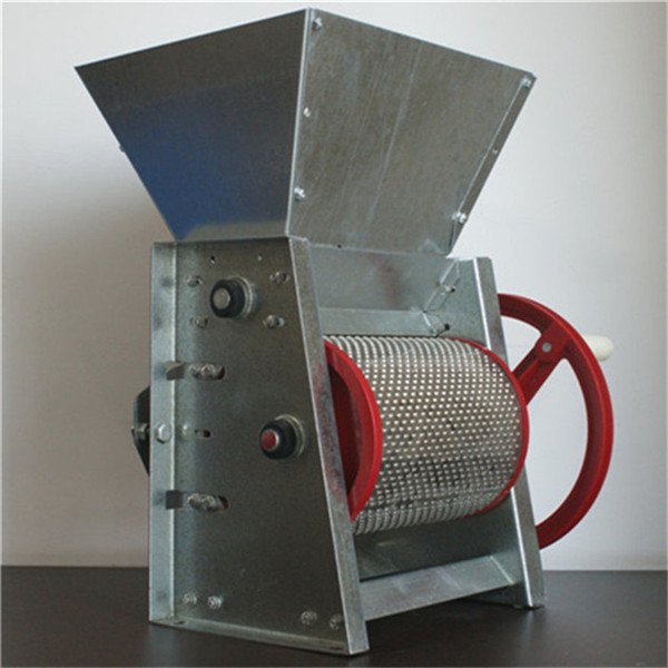 coffee husk pulping machine