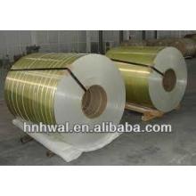 Bobina de aluminio recubierta de color PE / PVDF