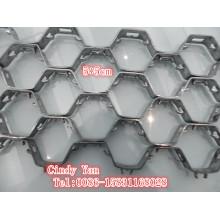 Ss304 Ss410 Hex Tortue Shell Net Épaisseur 2.2mm / Ss 304 Hex Net Professionnel Usine