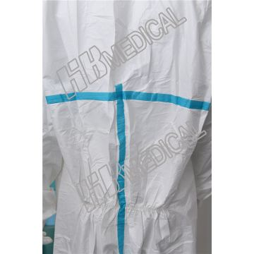 Coverall Isolation Suit Protection Gown