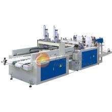 Automático de alta velocidade t-shirt saco de fazer a máquina (CE)