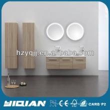 Los gabinetes más nuevos montados en la pared del fregadero del baño Gabinetes modernos tallados italianos del cuarto de baño