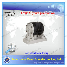 Pompe à membrane pneumatique double en plastique