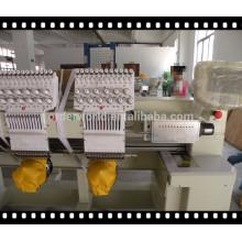 Nova condição da máquina do bordado 2 cabeças de preço da máquina do bordado