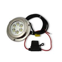 6X2w 12V IP68 LED de montagem de superfície Marine Yatch Lamp