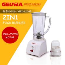 Guewakitchen Appliance Blender avec broyeur 2 en 1