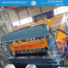 Rolo galvanizado do Decking da telha de assoalho que forma a máquina