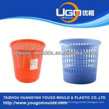 Molde de la cesta de la inyección del molde de la inyección de la cesta vegetal plástica en taizhou zhejiang China