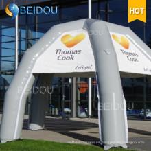 Tienda de campaña de publicidad al aire libre popular inflable tienda de campaña de araña