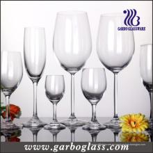 560ml sin plomo cristal de vino de cristal (GB083319)